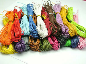 Lot-Mix-de-10m-de-fil-coton-cire-de-1mm-pour-colliers-sautoirs-bracelets-10x1m