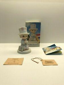 Precious Moments Figurine 527564 ln box God Bless The USA