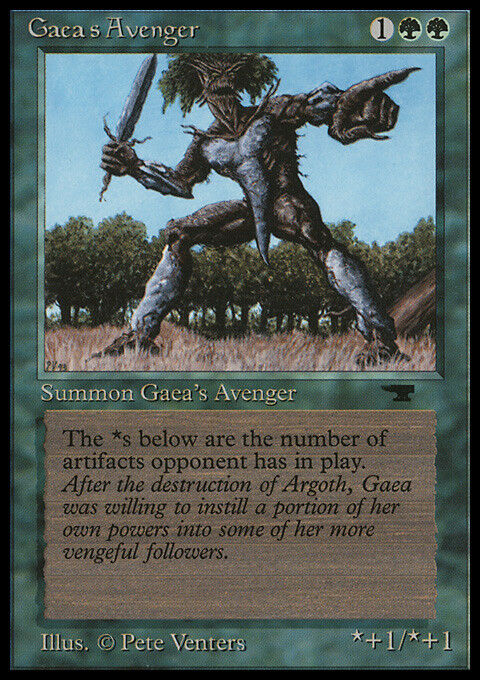 Gaea's Avenger x2 - Antiquities - 2x - EX