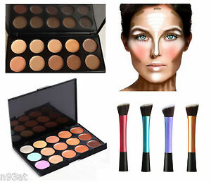 how to use conceal and contour kit for face