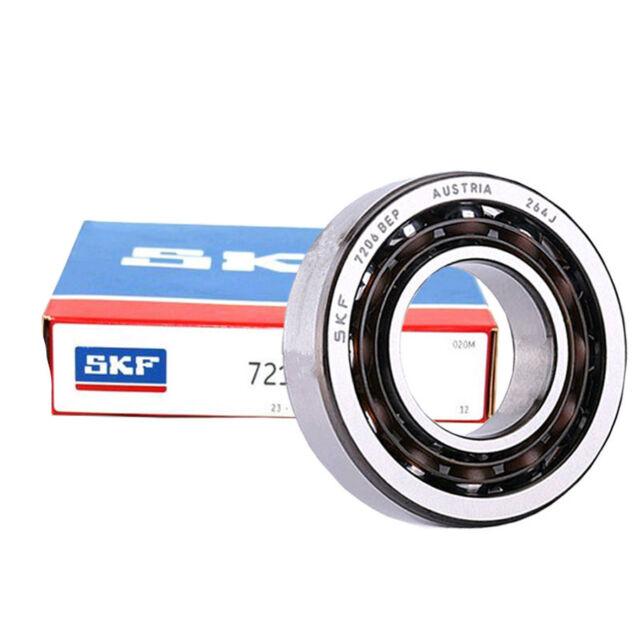 SKF 7206 BEP Angular Contact Ball Bearings, Single Row 30x62x16 mm