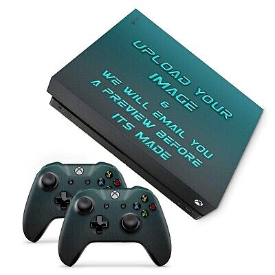 2019 Fashion Create Your Own Custom Made Xbox One X Skin Vinyl Sticker Decals, Uk Comfortable And Easy To Wear