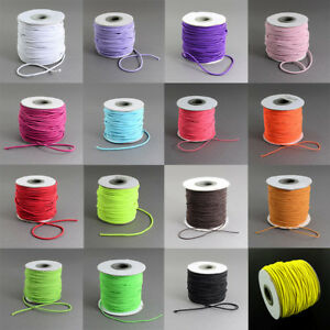1-Roll-2mm-Nylon-Outside-and-Rubber-Inside-Round-Elastic-Cord-40m-roll-Crafts