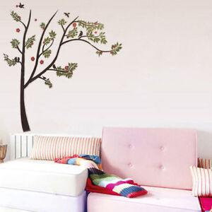 Wandtattoo Baum Ast Xxl Vogel Tiere Blumen Wand Wandsticker