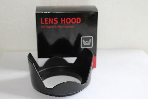 82 mm parasol parasol para cámara objetivamente lens Hood Flower 82 mm