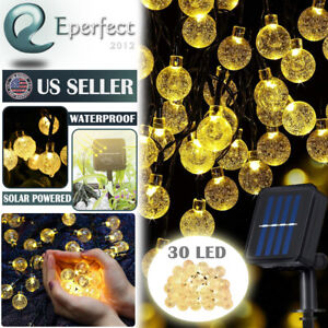Outdoor-30-LED-Solar-Powered-String-Light-Garden-Path-Yard-Decor-Lamp-Waterproof