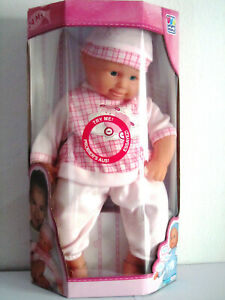 happy people 50350 große babypuppe mit funktion - mädchen