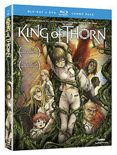 King of Thorn (Blu-ray/DVD Combo) 2012 Anime English Japanese subbed dubbed New!