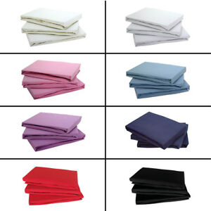 100% COTTON JERSEY FITTED BED SHEET SINGLE DOUBLE KING SUPER KING 4FT BUNK BED