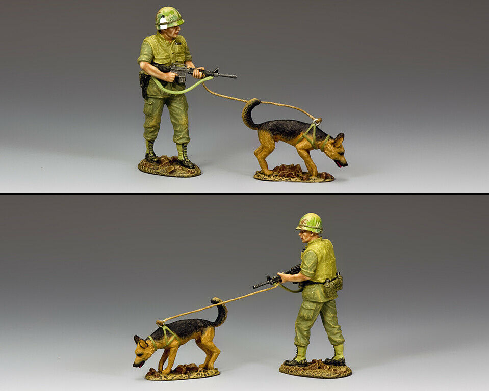 KING AND COUNTRY Vietnam War - Vietnam War Dog Dog VN050