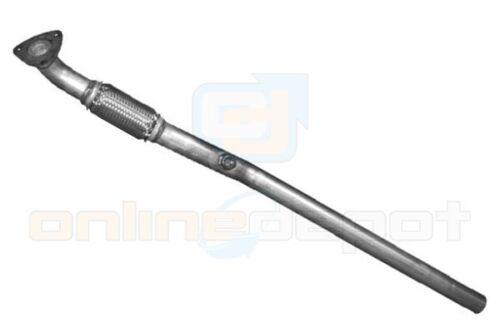 Rohr vorne mit Flex OPEL COMBO C 1.7CDTi 101PS 04-11 Hosenrohr Auspuff Anbausatz