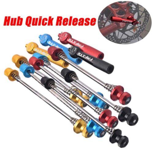 Road Bike Wheel MTB Quick Release Skewer Locking Security Anti Theft Skewer Set!
