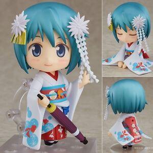 Nendoroid-797-Madoka-Sayaka-Miki-Meiko-PVC-Figura-Buono-Sorriso-100-Autentico