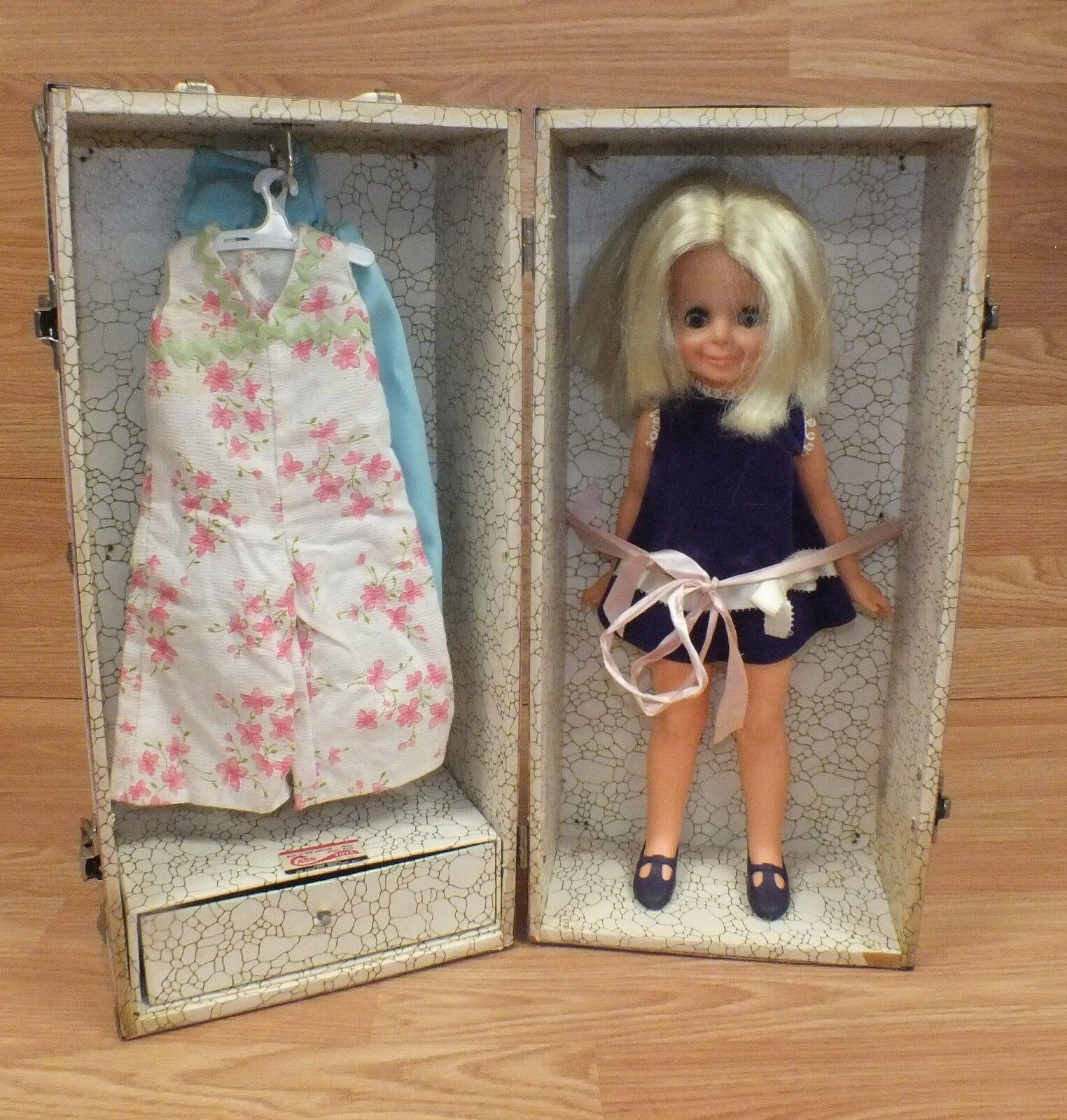 garantizado Vintage Cass Juguetes 76th Año Osito pecho pecho pecho con 1969 Juguete Ideal en crecimiento de pelo de muñeca  bajo precio