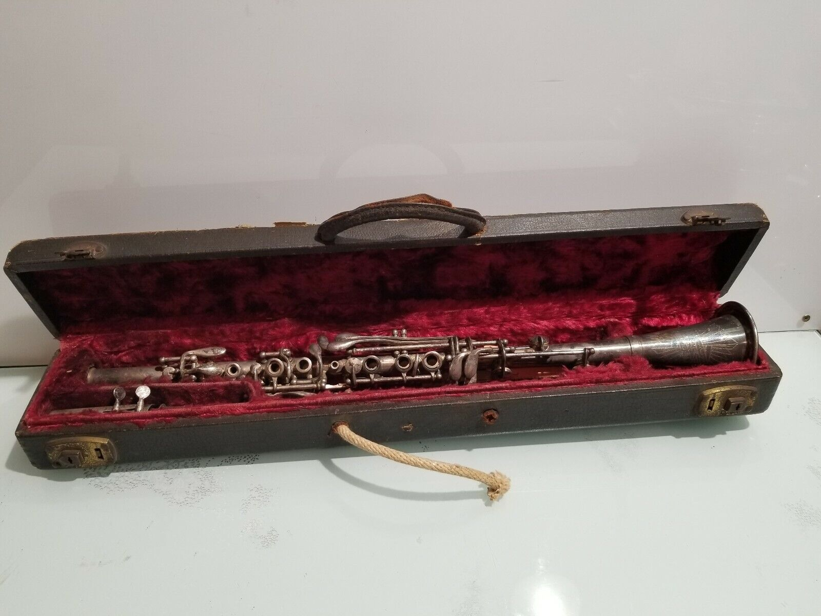 Vintage Pedler Clarinet Elkhart Indiana with Case and Melodia Mouthpiece 36278