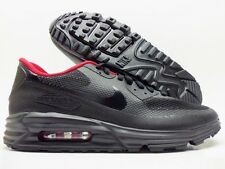 NIKE AIR MAX 90 LUNAR HYPERFUSE PREMIUM ID BLACK/RED SIZE MEN'S 10 [653604-992]