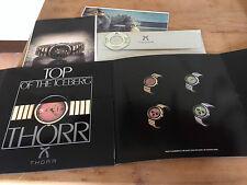 New - Presentation Catalog THORR Catálogo Presentación - + CD audio - Nuevo