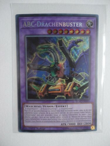 EDIZIONE ABC-drachenbuster lckc-de059 Secret Rare 1