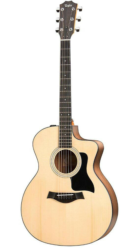 Taylor 100 Series 2017 114ce Grand Auditorium Acoustic-Electric Guitar Natural