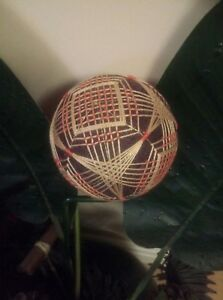 Beautiful-4-034-Handmade-Japanese-Temari-Ball