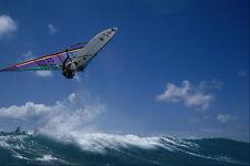 599085 Dave Kalama Jumps Off The Wave Hookipa Maui A4 Photo Print