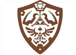 Legend-of-Zelda-Hylian-Shield-Wall-Decor-Room-Decal-9-034-x-11-034-Removeable-Vinyl
