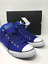 Sneakers-Men-039-s-Converse-Chuck-Taylor-All-Star-High-Top-Street-Canvas-Indigo-Blue thumbnail 3