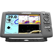 Lowrance HOOK-9 Combo w/83/200/455/800 HDI Transom Mount Transducer 000-12670-00