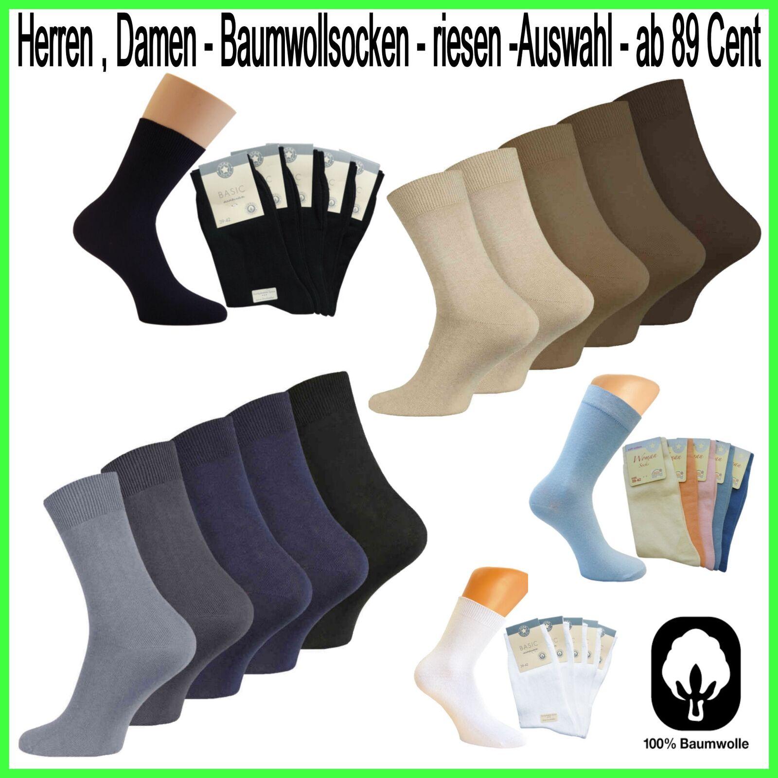 Damen Herren Baumwollsocken Arbeits,Arzt,Socken Baumwolle Arbeitssocken *