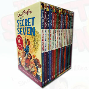 Enid-Blyton-The-Complete-Secret-Seven-Collection-16-Books-Box-Set-Pack-NEW