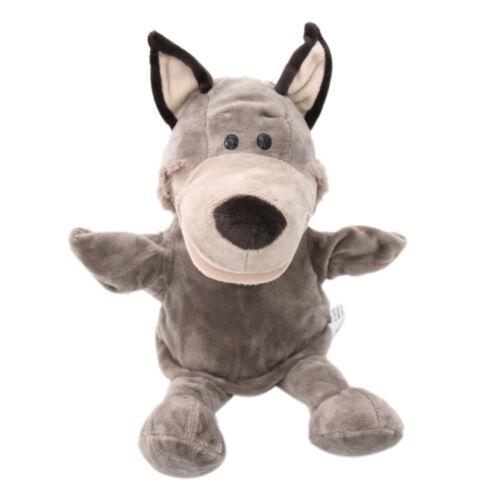 31cm Zootier Handpuppen Wolf Handpuppe Rollenspiel Spielzeug für Kinder