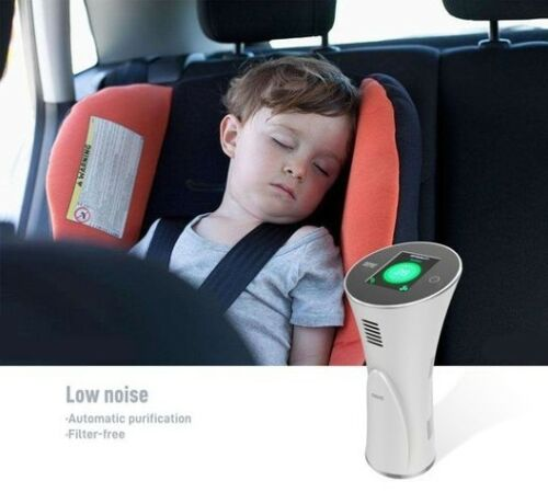 Visual Readout Virus Defense Portable Ionic Air Purifier Filter Free Stylish