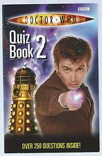 Doctor Who Quiz Book 2 Stephen Cole BBC 2006 6th Printing Paperback Edition Good