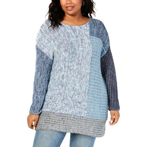 Womens Crewneck Tunic Winter Pullover Sweater Top Plus BHFO 8699 Style /& Co
