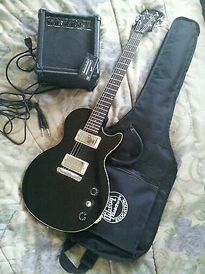 electric guitar gibson baldwin music education w amplifier g 10 ebay. Black Bedroom Furniture Sets. Home Design Ideas