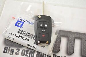 2014 Chevrolet Malibu Remote Flip Keyless Entry Uncut Transmitter Key FOB new OE