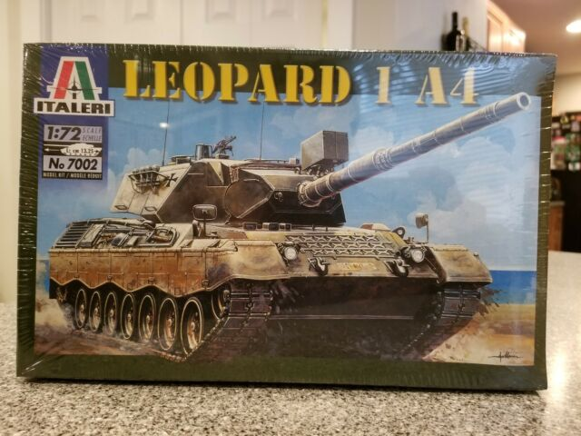 Italeri Model Kit Leopard 1 A4 Tank 7002