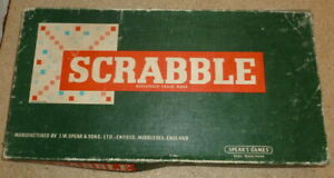 Vintage-Scrabble-Board-Game-Spear-039-s-Games-Complete