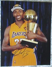 RON ARTEST METTA WORLD PEACE SIGNED 11x14 PHOTO LAKERS (DANCING WITH THE STARS)