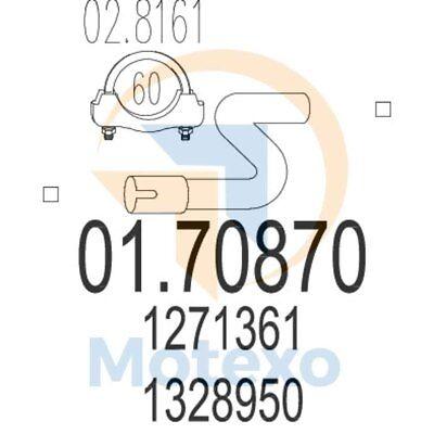 100% Vero Mts 01.70870 Scarico Volvo 940 2.0i 16v Turbo 190bhp 08/90 - 12/95-