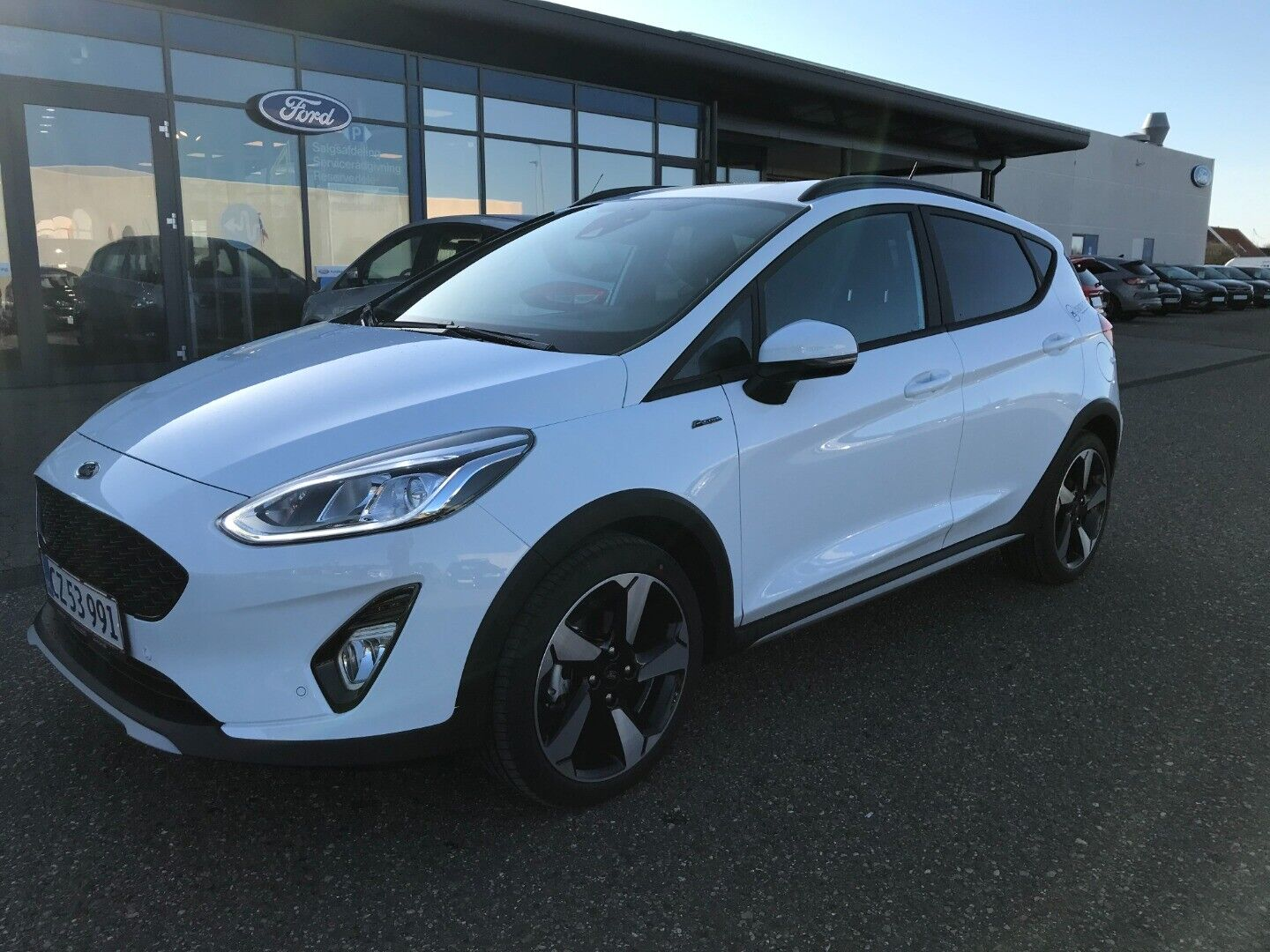 Ford Fiesta 1,0 EcoBoost mHEV Active