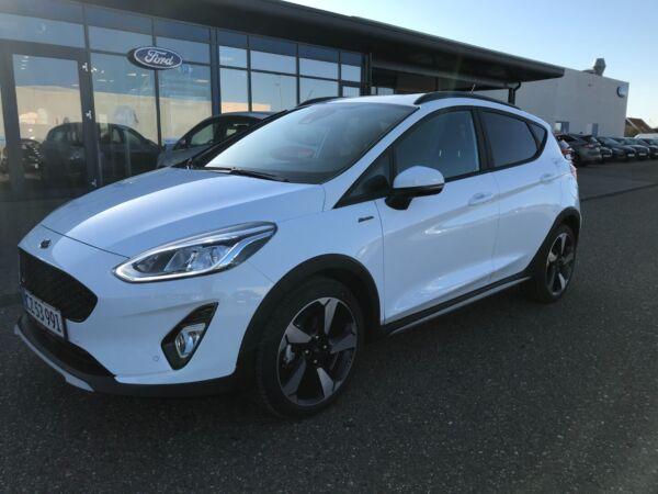 Ford Fiesta 1,0 EcoBoost mHEV Active billede 0