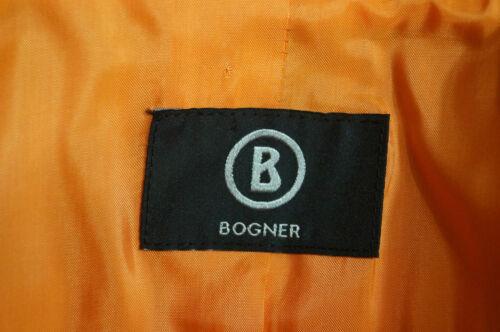 Sz Bogner V hals mouw Casual Dames Lange Revers Jas s Oranje Blazer 7U7qSvxg