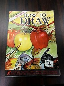 Vintage-Walter-T-Foster-Art-Book-2-New-Edition-How-To-Draw-Landscape-Still-Life