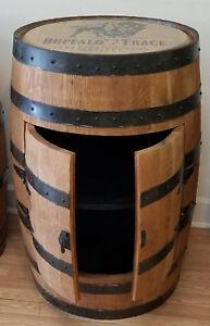 Image Is Loading Whiskey Barrel Buffalo Trace Dbl Door Cabinet Choice