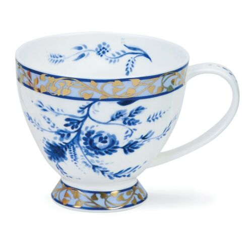 Dunoon Delft Blue Jumbo 0,42 L Teetasse Mug Kaffeebecher Skye