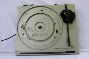 PIONEER-PL-120-AUTO-RETURN-STEREO-TURNTABLE-DECK-RECORD-PLAYER-SPARE-amp-REPAIR