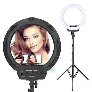 Anillo-de-luz-LED-Zomei-Fotografia-Kit-de-Iluminacion-Regulable-Para-Camara-De-Maquillaje-YouTube