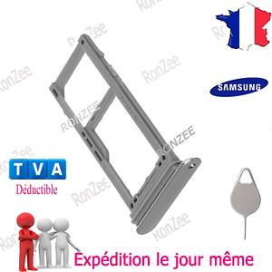 TIROIR CARTE SIM PLATEAU SD POUR SAMSUNG GALAXY S9 / S9+ G960 G965 ✅ AU CHOIX ✅