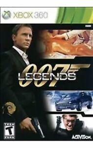 007 Legends Xbox 360 Game James Bond Collectible